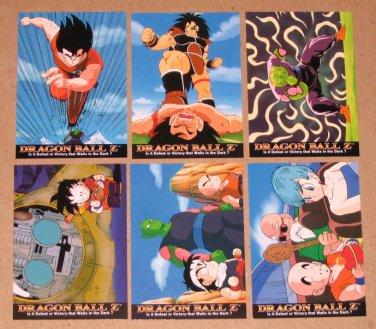 Dragon Ball Z Series 1 (Artbox 1996) - Single Cards