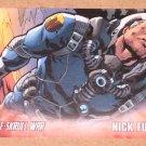Avengers Kree-Skrull War (Upper Deck 2011) Character Card #4- Nick Fury EX
