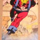 Avengers Kree-Skrull War (Upper Deck 2011) Retro Card R-7 Goliath EX