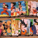 Dragon Ball Z Series 1 (Artbox 1996) - Lot of 18 Cards VG