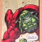 Avengers Kree-Skrull War (Upper Deck 2011) Untold Tales Power Card 4-10 EX