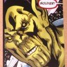 Avengers Kree-Skrull War (Upper Deck 2011) Untold Tales Soldier's Honor Card 5-18 EX