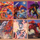 1994 Flair Marvel Universe (Fleer) - Single Cards