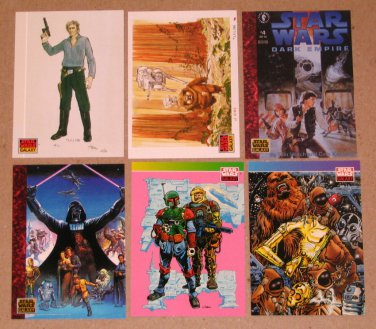 Star Wars Galaxy Series 1 (Topps 1993) - Single Cards