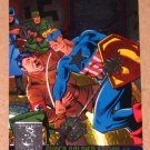 Amalgam (Fleer/SkyBox 1996) Power Blast Card #1- Super-Soldier Action #1 EX