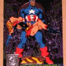 Amalgam (Fleer/SkyBox 1996) Power Blast Card #9- Secret Crisis of the Infinity Hour #7 EX