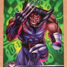 X-Men All Chromium, Fleer Ultra 1995 - Alternate X Embossed Card #20- Weapon X VG