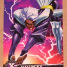 X-Men All Chromium, Fleer Ultra 1995 - Alternate X Embossed Card #18- Storm VG