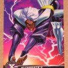 X-Men All Chromium, Fleer Ultra 1995 - Alternate X Embossed Card #18- Storm VG