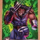 X-Men All Chromium, Fleer Ultra 1995 - Alternate X Embossed Card #20- Weapon X EX
