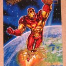 Spider-Man, Fleer Ultra (1995) Gold Foil Signature Card #121- Iron Man EX