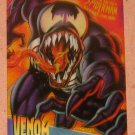 Spider-Man, Fleer Ultra (1995) ClearChrome Card #10- Venom NM