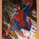 Spider-Man, Fleer Ultra (1995) Golden Web Card #7- Spider-Man VG