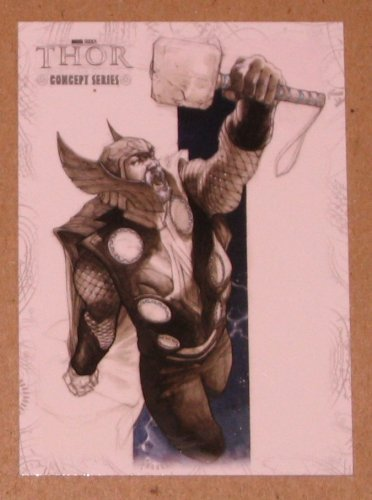 Thor Movie (Upper Deck 2011) Concept Series Card C9 EX
