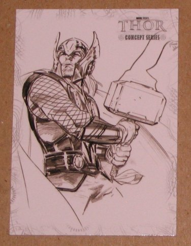 Thor Movie (Upper Deck 2011) Concept Series Card C3 EX