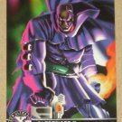 X-Men All Chromium, Fleer Ultra 1995 - Alternate X Embossed Card #4- Bishop EX