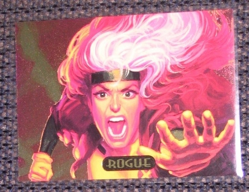 Marvel Masterpieces 1994 (Fleer) PowerBlast Card #7- Rogue EX