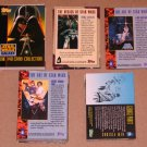 Star Wars Galaxy Series 1 (Topps 1993) - Near Card Set 135/140 EX