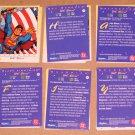 DC Stars (SkyBox 1994) - Near Card Set 40/45 EX