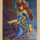 X-Men All Chromium, Fleer Ultra 1995 - Gold-foil Signature Card #28- Shadowcat VG