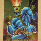 X-Men All Chromium, Fleer Ultra 1995 - Gold-foil Signature Card #5- Cyclops EX