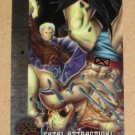 X-Men All Chromium, Fleer Ultra 1995 - Gold-foil Signature Card #86- Fatal Attractions EX-MT
