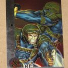 X-Men All Chromium, Fleer Ultra 1995 - Gold-foil Signature Card #81- CIA EX-MT