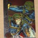 X-Men All Chromium, Fleer Ultra 1995 - Gold-foil Signature Card #81- CIA EX-MT