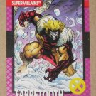 X-Men Series 1 (Impel 1992) Card #52- Sabretooth VG