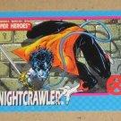 X-Men Series 1 (Impel 1992) Card #6- Nightcrawler VG