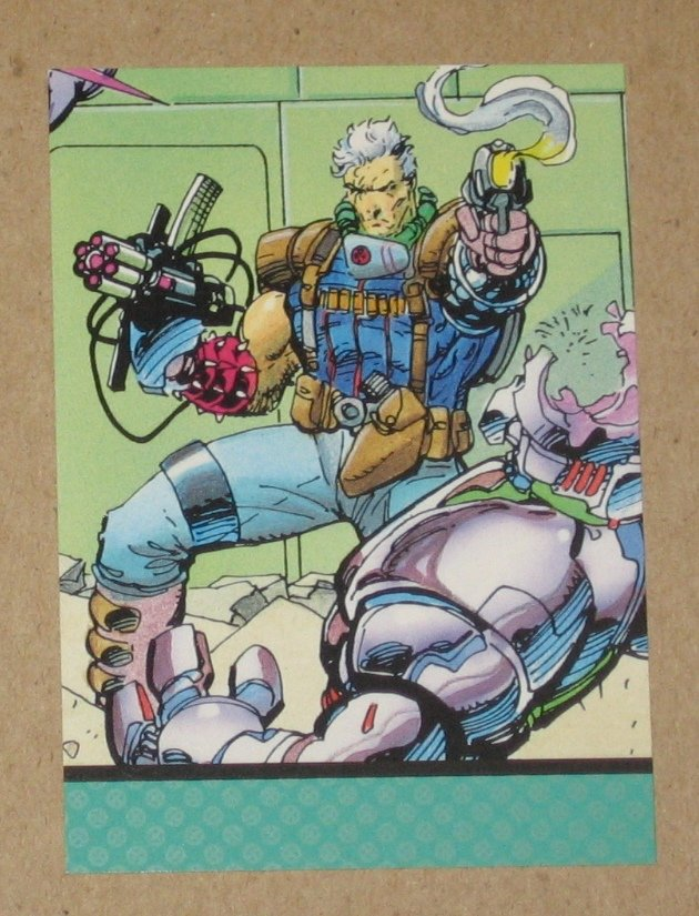 X-Men Series 1 (Impel 1992) Card #98- Cable EX