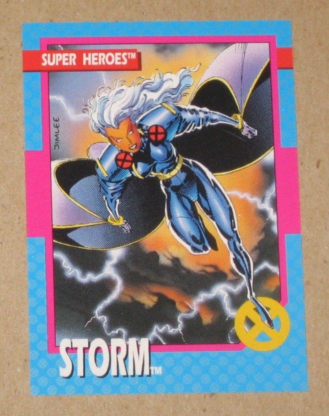 X-Men Series 1 (Impel 1992) Card #14- Storm EX