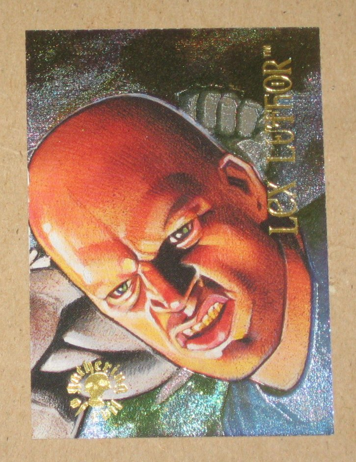 DC Villains Dark Judgment (SkyBox 1995) Spectra-Etch Card ge1 - Lex Luthor VG