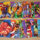 Marvel Vision (Fleer/SkyBox 1996) - Lot of 29 Cards EX
