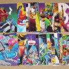 X-Men Trading Cards (Jim Lee Art - Comic Images 1991) - Lot of 34 Cards EX