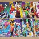 X-Men Trading Cards (Jim Lee Art - Comic Images 1991) - Lot of 34 Cards EX
