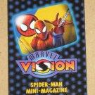 Marvel Vision (Fleer/SkyBox 1996) - Spider-Man Mini-Magazine VG
