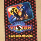 Marvel Vision (Fleer/SkyBox 1996) - X-Men Mini-Magazine VG