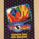 Marvel Vision (Fleer/SkyBox 1996) - Fantastic Four Mini-Magazine EX