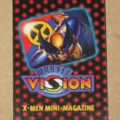 Marvel Vision (Fleer/SkyBox 1996) - X-Men Mini-Magazine EX