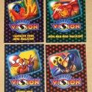 Marvel Vision (Fleer/SkyBox 1996) - Mini-Magazines Set EX