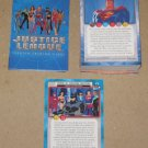 Justice League (Inkworks 2003) - Near Card Set 79/81 NM