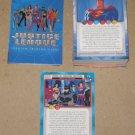 Justice League (Inkworks 2003) - Near Card Set 79/81 NM