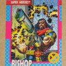 X-Men Series 1 (Impel 1992) Card #38- Bishop NM