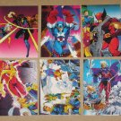 X-Men Trading Cards (Jim Lee Art - Comic Images 1991) - Single Cards