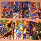 Amalgam (Fleer/SkyBox 1996) - Lot of 29 Cards EX