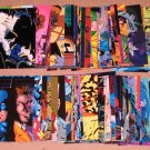Batman Saga of the Dark Knight (SkyBox 1994) - Lot of 71 Cards EX