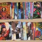 DC Villains Dark Judgment (SkyBox 1995) - Lot of 78 Cards EX