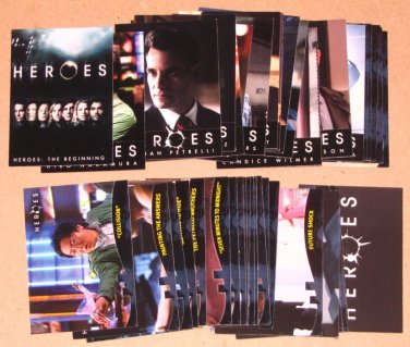 Heroes (Topps 2008) - Lot of 44 Cards EX