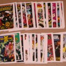 Marvel 1st Covers Series 2 (Comic Images 1991) - Lot of 69 Cards EX